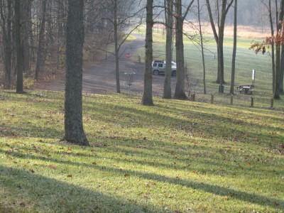 Heritage Park, Heritage Park DGC, Hole 5 Short approach