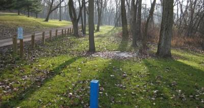 Heritage Park, Heritage Park DGC, Hole 6 Long tee pad