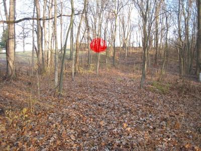 Heritage Park, Heritage Park DGC, Hole 1 Long tee pad