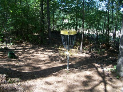 Deer Lick Park, Main course, Hole 11 Putt