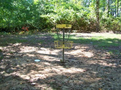 Deer Lick Park, Main course, Hole 18 Putt
