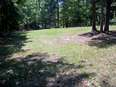 Deer Lick Park, Main course, Hole 1 Tee pad