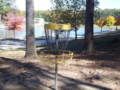 Deer Lick Park, Main course, Hole 2 Putt