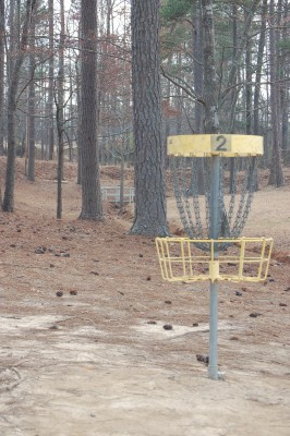 Deer Lick Park, Main course, Hole 2 Reverse (back up the fairway)
