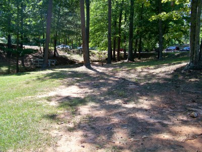 Deer Lick Park, Main course, Hole 1 Midrange approach