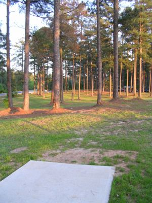 McCurry Park, Main course, Hole 18 Tee pad
