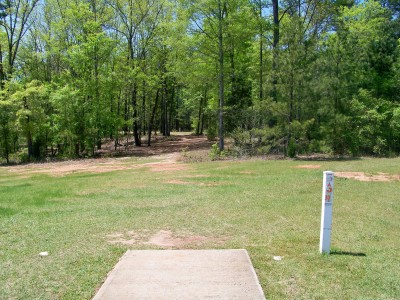 Patriot's Park, Main course, Hole 3 Tee pad