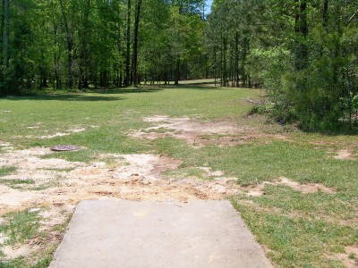 Patriot's Park, Main course, Hole 1 Tee pad