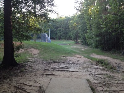 Patriot's Park, Main course, Hole 17 Tee pad