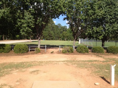 Patriot's Park, Main course, Hole 5 Tee pad