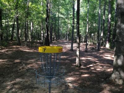 Patriot's Park, Main course, Hole 7 Reverse (back up the fairway)