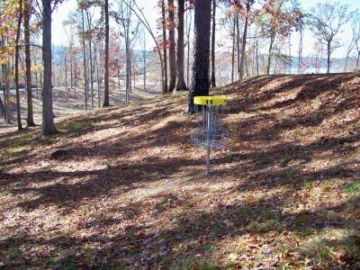 Claystone Park, Main course, Hole 11 Putt
