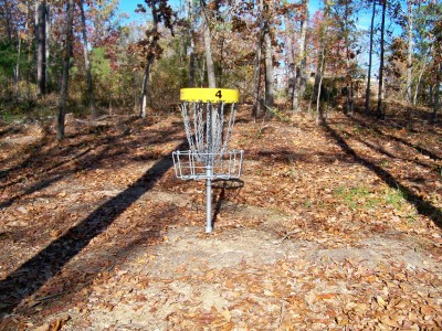 Claystone Park, Main course, Hole 4 Putt