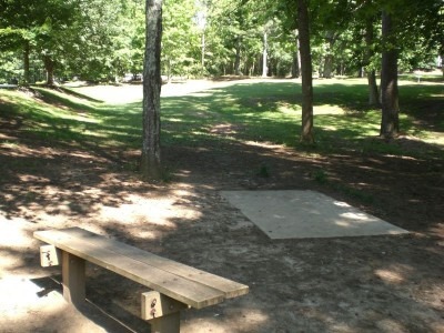 Oregon Park, Main course, Hole 15 Short tee pad