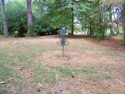 Rosewood-Dekalb @ Redan Park, Main course, Hole 18 Putt