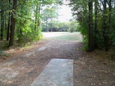Rosewood-Dekalb @ Redan Park, Main course, Hole 14 Tee pad