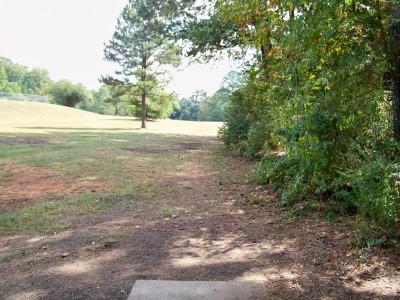 Rosewood-Dekalb @ Redan Park, Main course, Hole 8 Tee pad