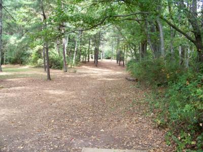 Rosewood-Dekalb @ Redan Park, Main course, Hole 18 Tee pad