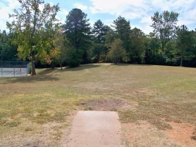 Rosewood-Dekalb @ Redan Park, Main course, Hole 2 Tee pad