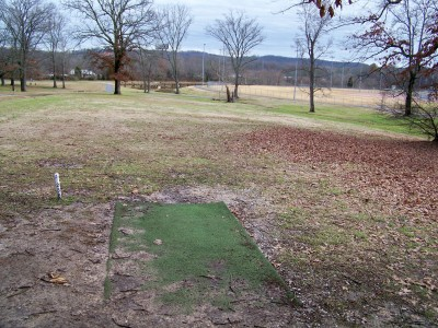 Jack Mattox Recreation Complex, Main course, Hole 3 Tee pad