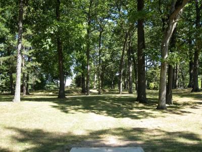 Victory Park, Main course, Hole 4 Tee pad