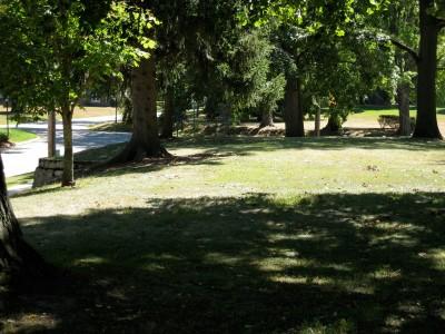 Victory Park, Main course, Hole 2 Midrange approach