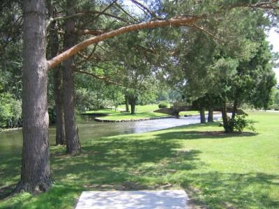Victory Park, Main course, Hole 14 Long tee pad