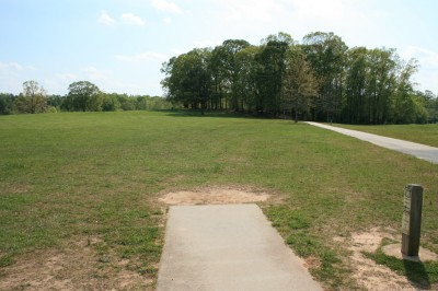 Lenora Park, Main course, Hole 8 Tee pad