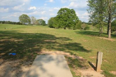 Lenora Park, Main course, Hole 17 Tee pad
