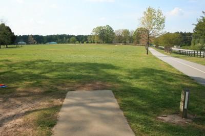 Lenora Park, Main course, Hole 7 Tee pad