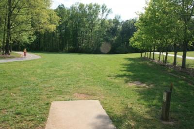 Lenora Park, Main course, Hole 15 Tee pad