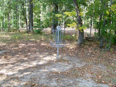 J.P. Moseley Park, Main course, Hole 9 Alternate pin