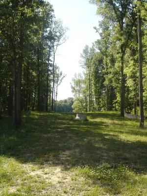 J.P. Moseley Park, Main course, Hole 9 Long approach