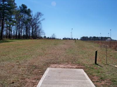 J.P. Moseley Park, Main course, Hole 18 Tee pad