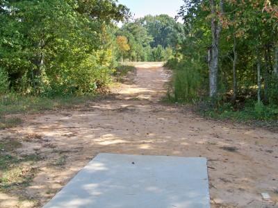 J.P. Moseley Park, Main course, Hole 15 Tee pad