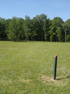 J.P. Moseley Park, Main course, Hole 9 Short tee pad