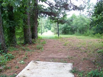J.P. Moseley Park, Main course, Hole 17 Tee pad