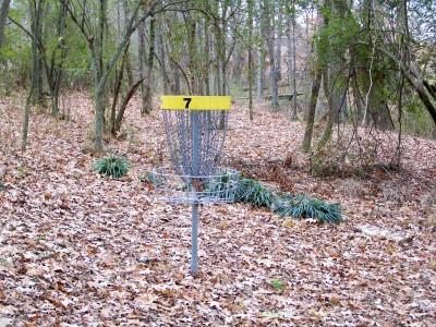 Hawk's Grove, Main course, Hole 7 Putt