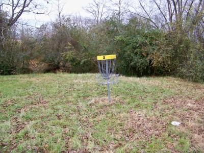 Hawk's Grove, Main course, Hole 2 Putt