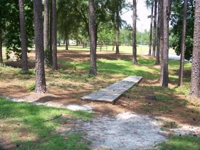 East Georgia College, Main course, Hole 15 Tee pad