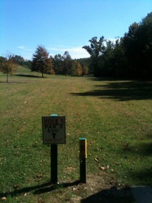 Stephens County/Rose Lane, Main course, Hole 5 Tee pad