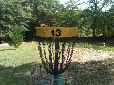 Stephens County/Rose Lane, Main course, Hole 13 Putt