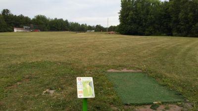 Plattsburgh State DGC, Main course, Hole 3 Tee pad