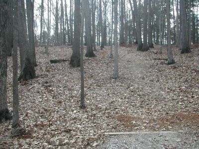 Fort Yargo State Park, Main course, Hole 7 Tee pad