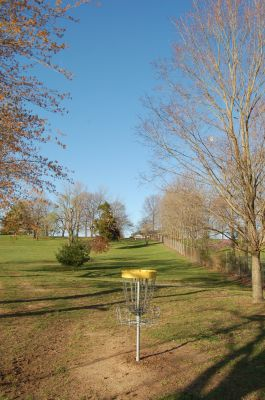 Basil Griffin Park, Main course, Hole 5 Reverse (back up the fairway)