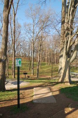 Basil Griffin Park, Main course, Hole 1 Tee pad