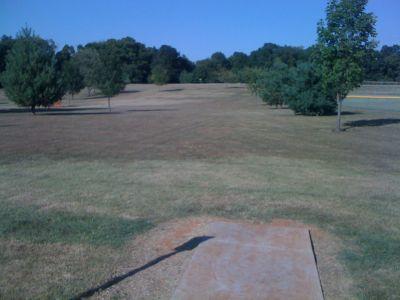 Basil Griffin Park, Main course, Hole 17 Tee pad