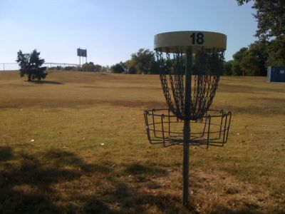 Basil Griffin Park, Main course, Hole 18 Reverse (back up the fairway)