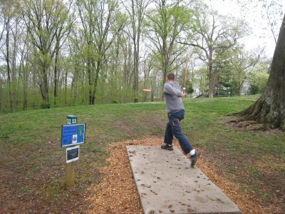 Hobson Grove Park, Main course, Hole 11 Tee pad