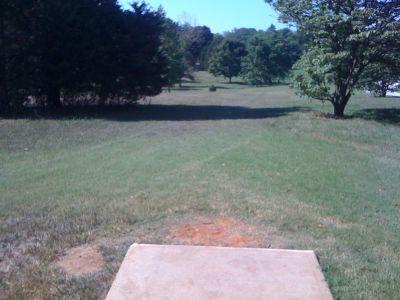 Kereiakes Park, Main course, Hole 11 Tee pad